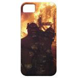 Fuego contraincendios de la estructura iPhone 5 Case-Mate cobertura
