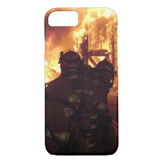 Fuego contraincendios de la estructura funda iPhone 7