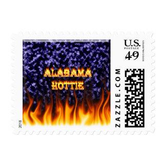 Fuego de Alabama Hottie y mármol del azul de las Sello