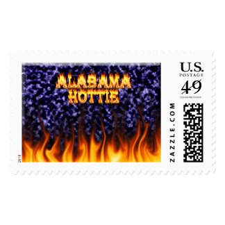 Fuego de Alabama Hottie y mármol del azul de las Sellos