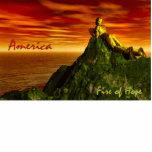 ¡Fuego de AMERICA~The de la ESPERANZA! Escultura d Escultura Fotográfica