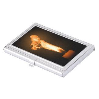 Fuego de Falln Caja De Tarjetas De Presentación