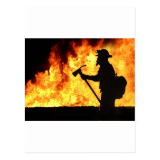 Fuego de Forrest Tarjetas Postales