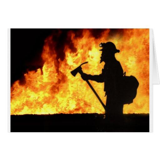 Fuego de Forrest Tarjetas