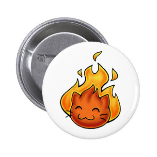 Fuego de Fox Pin