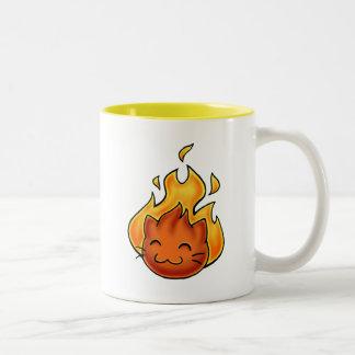 Fuego de Fox Tazas