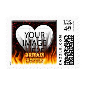 Fuego de Gran Bretaña Hottie y mármol del rojo de Envio