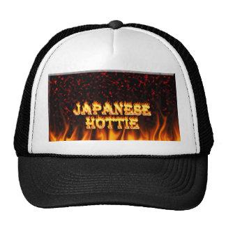 Fuego de Hottie del japonés y mármol del rojo de l Gorro