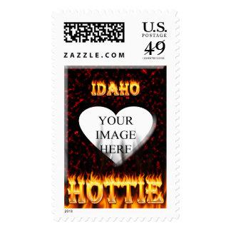 Fuego de Idaho Hottie y corazón de mármol rojo Envio