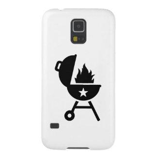 Fuego de la barbacoa del Bbq Funda De Galaxy S5