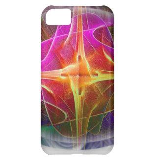 Fuego de la estrella funda para iPhone 5C