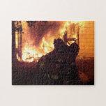 Fuego de la estructura puzzle