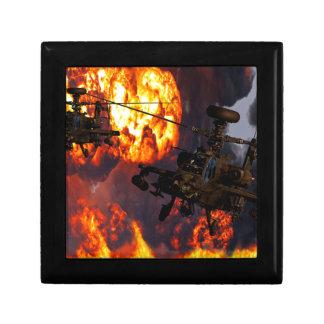 Fuego de la tormenta de Apache Cajas De Recuerdo