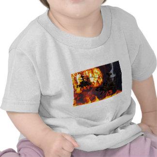 Fuego de la tormenta de Apache Camisetas