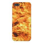 Fuego de las llamas iPhone 5 coberturas