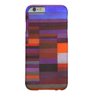 Fuego de Paul Klee en el caso del iPhone 6 de la Funda De iPhone 6 Barely There