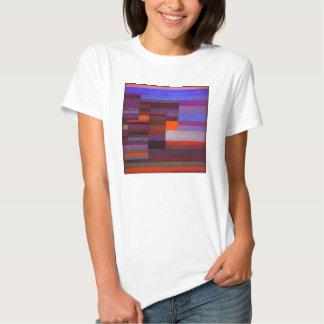 Fuego de Paul Klee en la camiseta de la tarde Playera