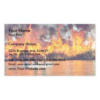 fuego de r2-az-imr-prescribed encendido por el bar plantillas de tarjetas de visita
