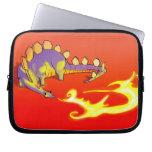 Fuego de respiración del Stegosaurus de los niños  Manga Portátil