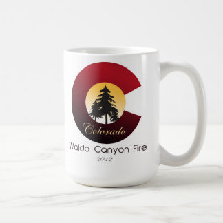Fuego del barranco de Waldo Taza De Café