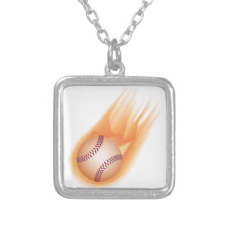 fuego del béisbol colgante cuadrado