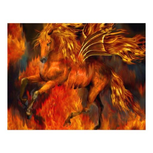 Fuego del caballo plantillas de membrete