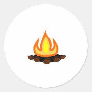 Fuego del campo etiquetas