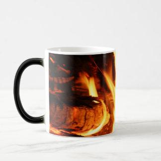 Fuego del campo taza mágica