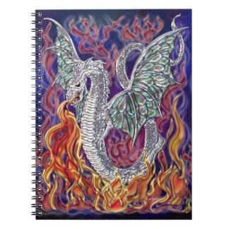 Fuego del dragón cuaderno