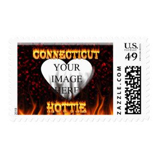fuego del hottie de Connecticut y diseño de las Franqueo