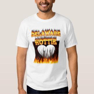 Fuego del hottie de Delaware y diseño de las Polera