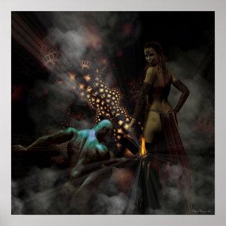 Fuego del infierno posters