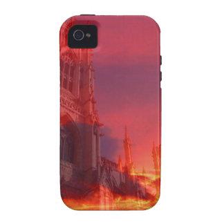 Fuego del púlpito Case-Mate iPhone 4 funda
