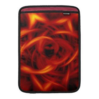 Fuego del túnel fundas MacBook