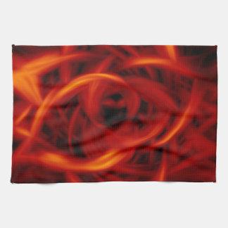 Fuego del túnel toalla