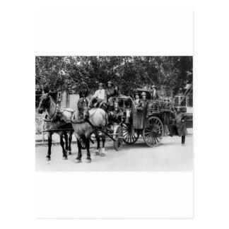 Fuego Dept, 1911 de Wenatchee Postal