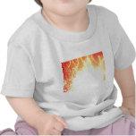 Fuego e hielo camiseta