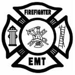 Fuego EMT Adorno Fotoescultura