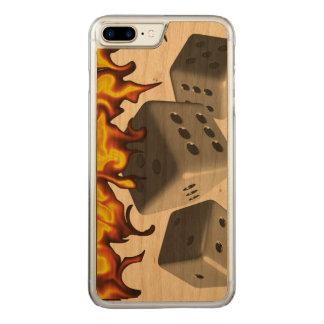Fuego en dados funda para iPhone 7