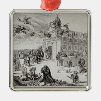 Fuego en el templo de Charenton, c.1685 Ornamentos De Reyes