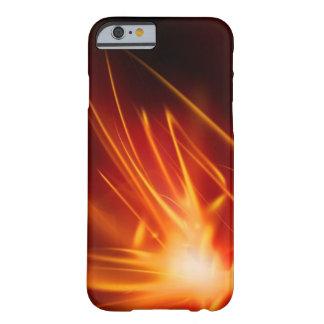 Fuego en nuestros corazones funda para iPhone 6 barely there