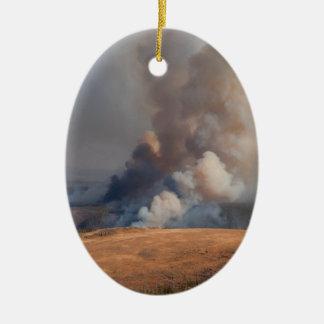 Fuego en Yellowstone Adorno