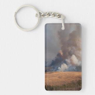 Fuego en Yellowstone Llaveros