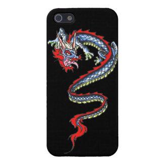 Fuego fresco tat J de la criatura de la fantasía d iPhone 5 Funda