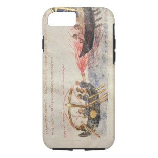 Fuego griego (vitela) funda iPhone 7