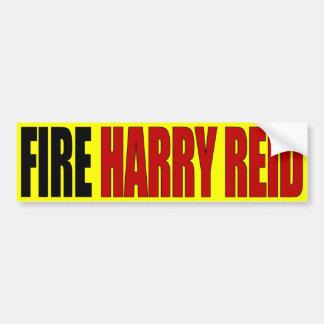 Fuego Harry Reid - Harry Reid anti Pegatina Para Coche