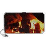 FUEGO: Hogar de la chimenea iPod Altavoces