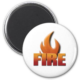 Fuego Imán Redondo 5 Cm