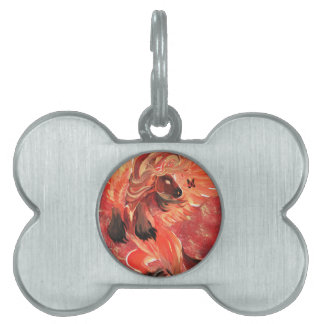 Fuego interno placas de mascota