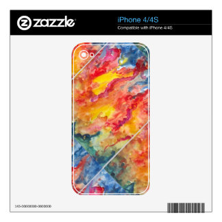 ¡Fuego! iPhone 4 Skin